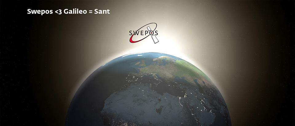 Galileo <3 Swepos = Sant!